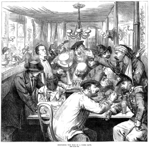 Discussing the War in a Paris Caf&eacute; - Illustrated London News, 17 September, 1870<br /> by Frederick Barnard (1846-1896)&#8221; class=&#8221;floatimgright&#8221; style=&#8221;width: 40%;&#8221; />Or at least the way that you are trying to succeed.</p><p>I talk a lot about work levels, and I spend a great deal of my time working with them. You can see a lot using that lens. <em>But you can&#8217;t see everything.</em> I was lucky enough to work with Warren Kinston, who has some incredible IP on expanding this. (Some of this was discussed at the 2007 GO Society conference in Toronto.)</p><p>Another piece of your puzzle is your <em>domain of work</em>. There seems to be different hierarchies in different domains, and just because you are at, say, Level 4 in work domain A&#8217;s hierarchy doesn&#8217;t mean that you can do Level 4 work in domain B.<br /> <span id=
