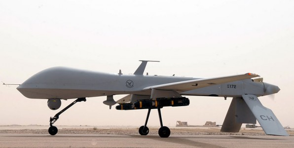 MQ-1B Predator UAV drone from U.S. Air Force. Photo by Tech. Sgt. Sabina Johnson