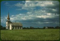 Rural church from Libray of Congress files of WPA photos.