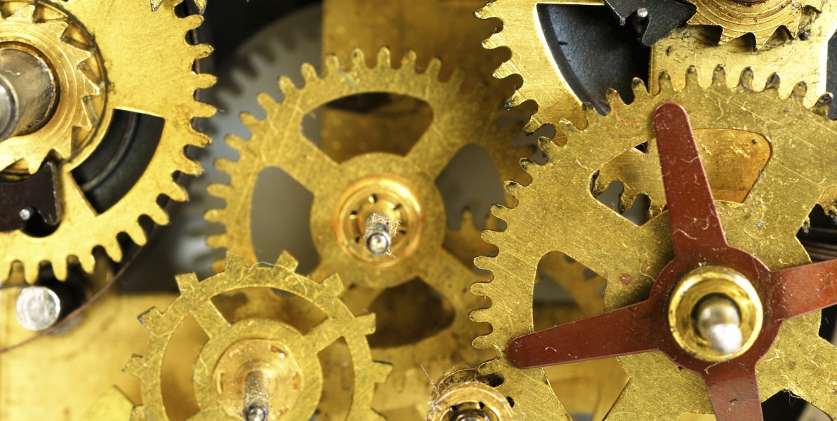 Old watch mechanism. © Günay Mutlu — iStock