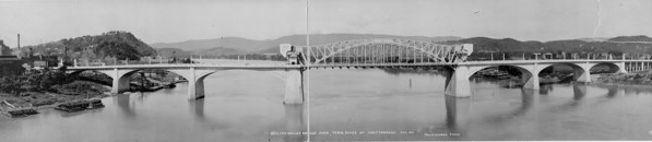 Million dollar bridge over Tenn_River, 1917. From Library of Congress #3c23508u