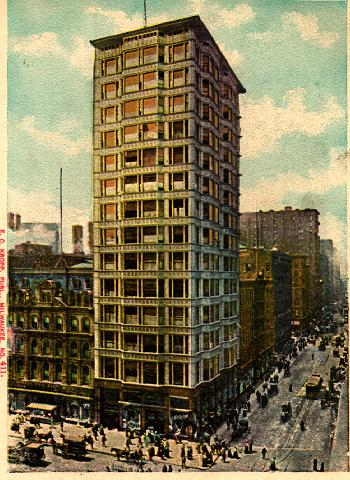 Burnham and Root, Reliance Building, Chicago, Illinois picture postcard from 1894